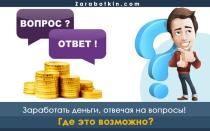 Как заработать деньги онлайн, отвечая на вопросы: цена полезной информации в Интернете