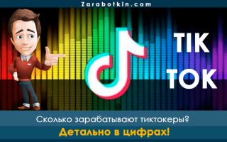 Сколько зарабатывают в Тик Ток в России и за рубежом – статистика, анализ и отзывы