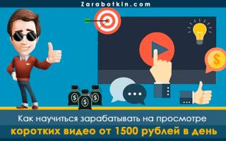 Заработок на просмотре видео в Интернете – 5 разных вариантов + конкретные цифры, сколько можно заработать на каждом из них