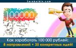 Как заработать 100 000 рублей в месяц: обзор 8 подходящих направлений для новичков и профи